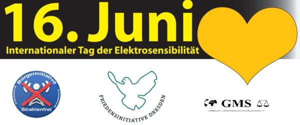 Internationaler Tag der Elektrosensibilität – Plakataktion