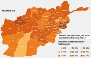 20 Jahre Afghanistan begannen und endeten mit Hunger